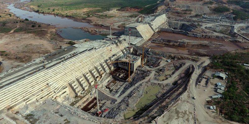 Barrage Grande Renaissance en Ethiopie