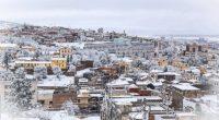 Tiaret sous la neige (Algérie)