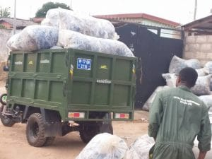 COTE D'IVOIRE: Start-up Coliba relies on intelligent waste collection © Coliba