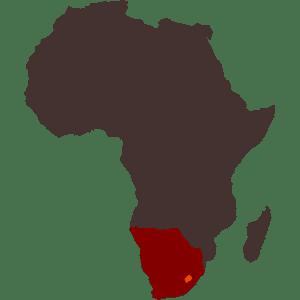 Lesotho Map