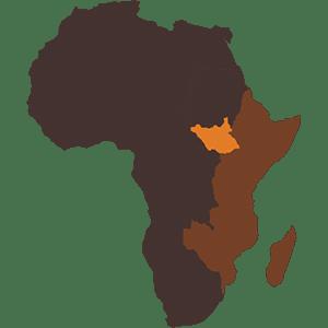 Southern Sudan Map