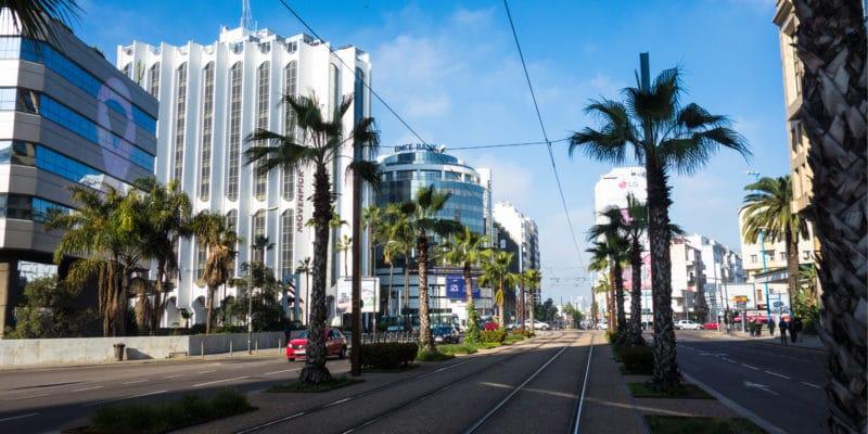 MAROC: Casablanca, future smart city? © J. K250/Shutterstock