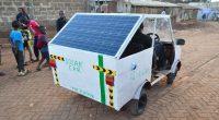 KENYA : Samuel Karumba fabrique une voiture «zéro pollution» qui parcourt 50 km © Samuel Karumbo