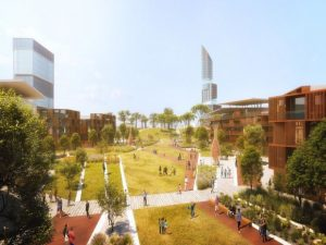 BURKINA FASO: Construction of the sustainable city of Yennenga launched © Architecture-Studio