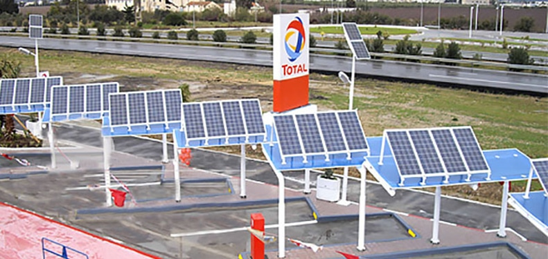 GHANA: Total uses solar energy at its gas stations©Total-solaire-France /Shutterstock