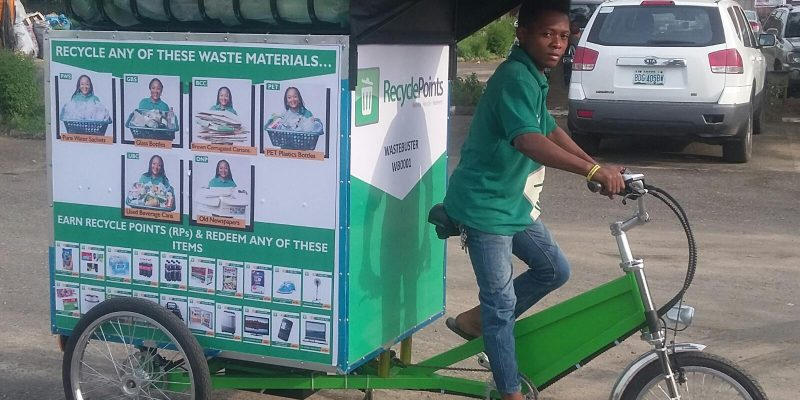 NIGERIA : la start-up Recycle Points remporte 30000 $ à l'«Open Mic Africa Summit»©Recycle Points