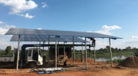 MALAWI: 600 farmers get a solar-powered irrigation system ©Sharp