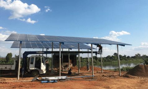 MALAWI : 600 agriculteurs bénéficient d'un système d'irrigation à énergie solaire ©Sharp