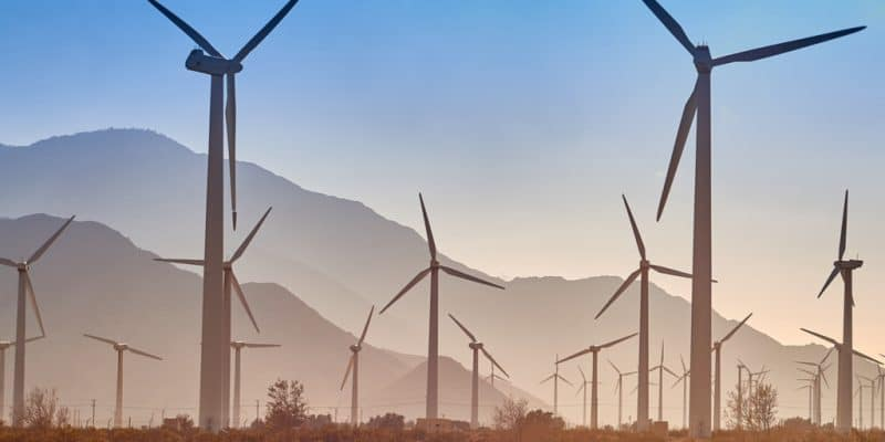 KENYA : les turbines du parc éolien du lac Turkana produisent les premiers mégawatts©Patrick Jennings/Shutterstock