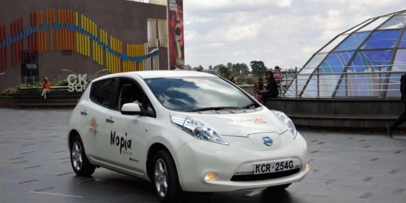 KENYA: EkoRent embarks on electric taxi in Nairobi, like Uber©Nopia Ride
