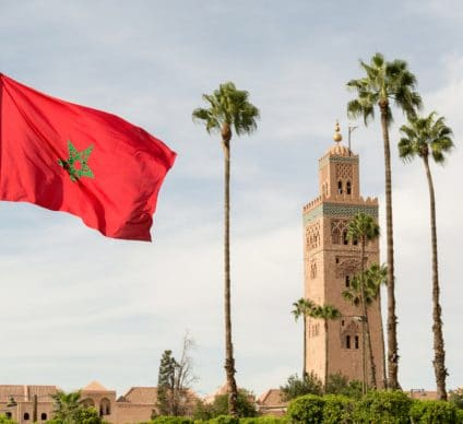 MOROCCO: Great African leader in the fight against global warming © Ser Borakovskyy