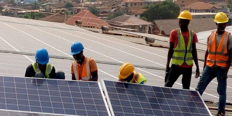 GHANA : CrossBoundary met en service un off-grid pour une usine d'embouteillage ©CrossBoundary