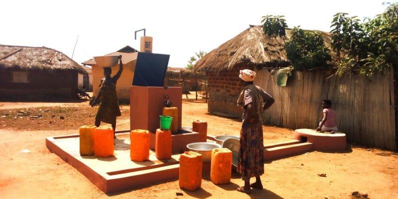 BENIN : Vergnet Hydro et 2 sociétés locales gagnent un contrat d'eau potable à Borgou©Vergnet Hydro