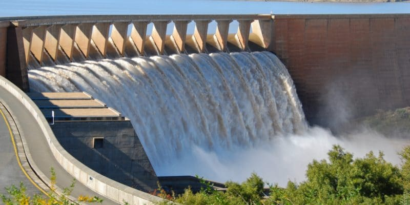 Kandadji hydroelectric dam, hydroelectric energy source.