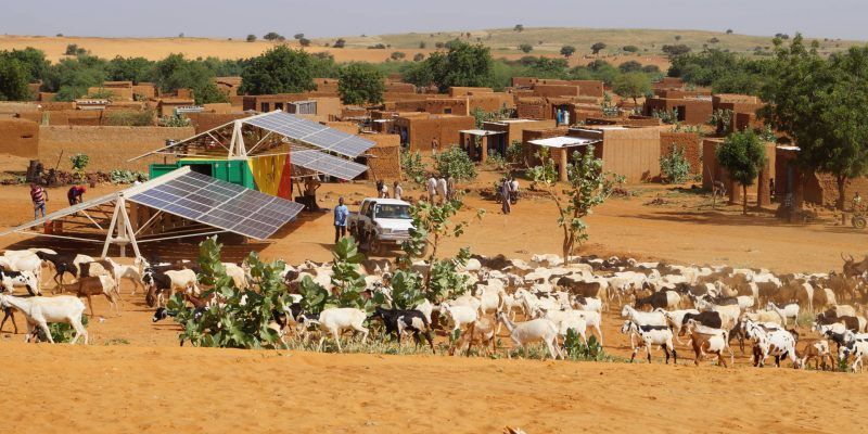 MALI: Africa GreenTec installs containerised solar mini grid in Fanidiama©Africa GreenTec