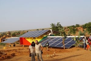 MALI: Africa GreenTec installs containerised solar mini grid in Fanidiama
