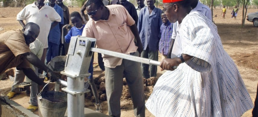 TOGO: Government provides water and sanitation in three localities©Gilles Paire/Shutterstock