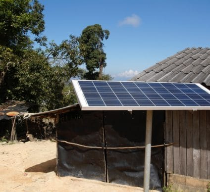 TOGO: Government and Bboxx provide solar kits for rural areas©Ralf Siemieniec/Shutterstock