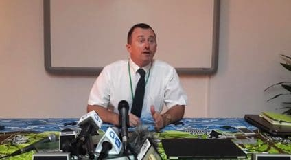GABON: Environment patron, Lee White appointed Minister of Water and Forestry©DR