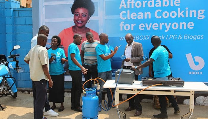 RWANDA: Bboxx becomes diversified with the launch of biogas and LPG cooking©Bboxx