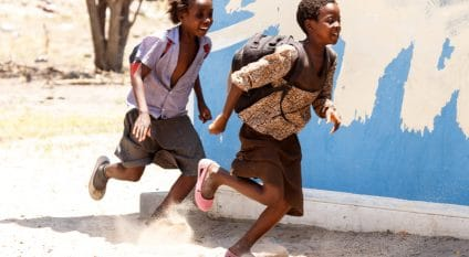 BOTSWANA: Solar backpacks for students in remote areas©Sam DCruz/Shutterstock