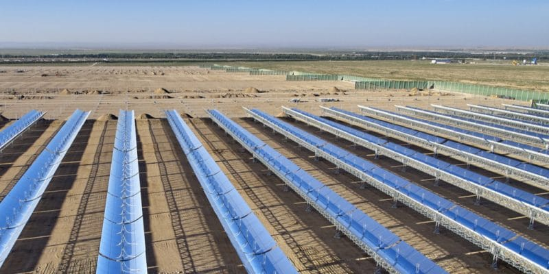 SOUTH AFRICA: Xina Solar 1 power plant (100 MW) in Abengoa