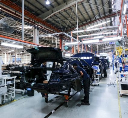 EGYPT: Geely Auto to develop electric car production line©Abdul Razak Latif/Shutterstock