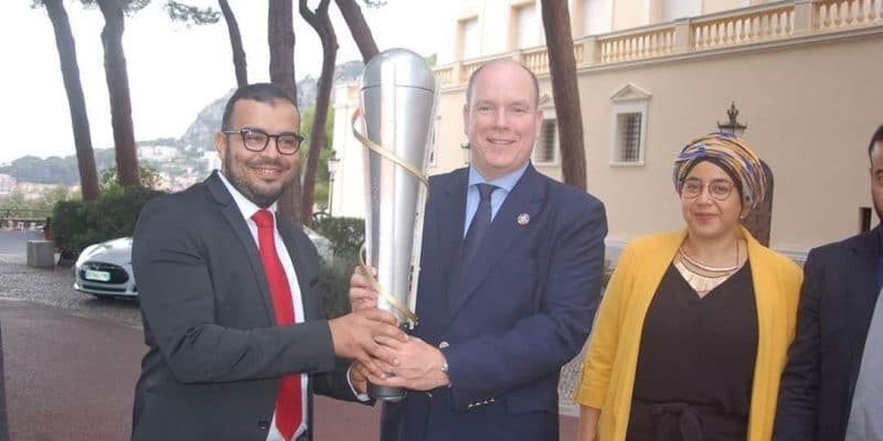 """MOROCCO: Photovoltaic torch """"Light Us"""" sets course for Chile on COP25©Light US"""