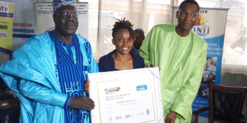 CAMEROUN : les fours écologiques de Juveline Ngum récompensés au Youth Connect Africa©Minjec Cameroun