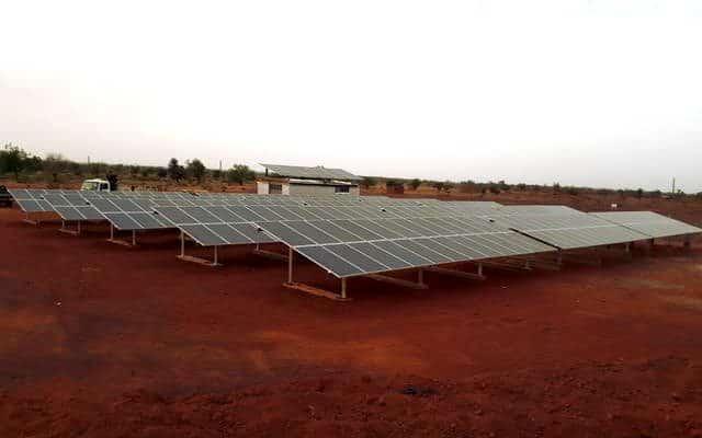 BURKINA FASO : Vergnet et Sagemcom connectent 5 mini-centrales solaires dans le Nord©Vergnet Hydro