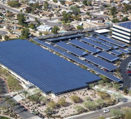 SOUTH AFRICA: Liquid Telecom's headquarters now has a 1.2 MW DPA solar off grid ©Tim Roberts Photography/Shutterstock