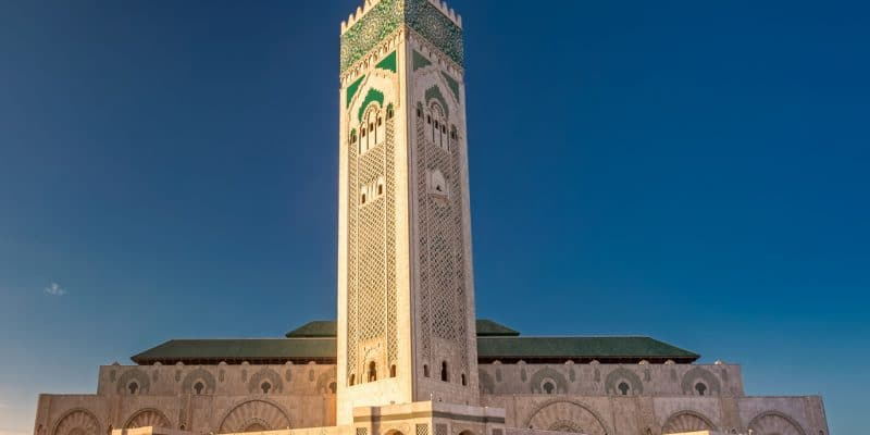 MOROCCO: Hassan-II Mosque drastically reduces impacts (at zero cost)©Ruslan Kalnitsky/Shutterstock