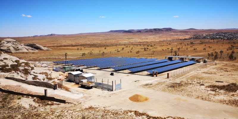 MADAGASCAR : Cap Sud connecte une mini-centrale solaire hybride près d'Ilakaka©Cap Sud