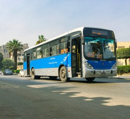 EGYPT: Government launches first electric bus service©Egyptian Studio/Shutterstock