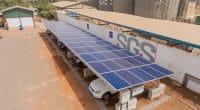 GHANA : Redavia installe un abri de voiture équipé de panneaux solaires pour SGS©Redavia