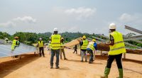 GABON: Ausar Energy and CDC launch the Ndjolé hybrid power plant construction©Engie