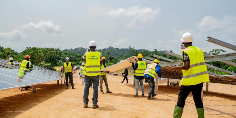 GABON: Ausar Energy and CDC launch the Ndjolé hybrid power plant construction©Engie