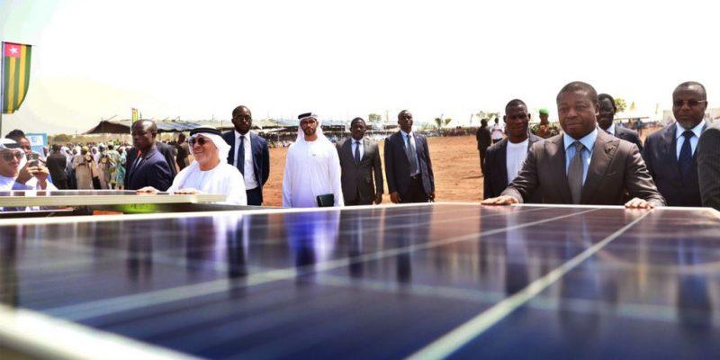 TOGO : Amea Power lance les travaux de construction de la centrale solaire de Blitta ©Présidence de la République togolaise