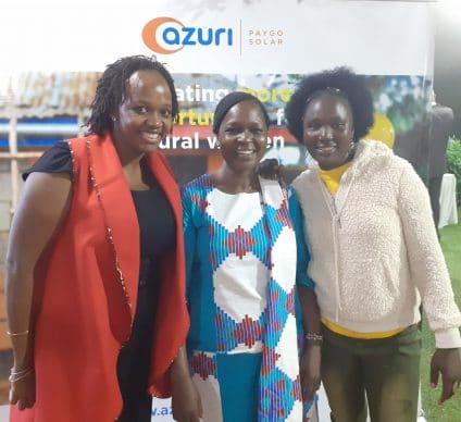 KENYA: Azuri Technologies encourages rural women to use solar energy©deAzuri
