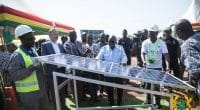 GHANA: Start of construction of two solar power plants financed by KfW©Presidency of the Republic of Ghana