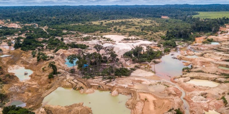 IVORY COAST: To end illegal gold panning in the Comoé Reserve