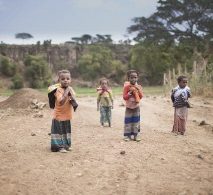 AFRICA: Environmental degradation might threaten children's health©Sadik Gulec/Shutterstock