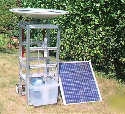 ZAMBIA: Saurea's solar engine will pump water for irrigation for 20 years©Saurea/Shutterstock