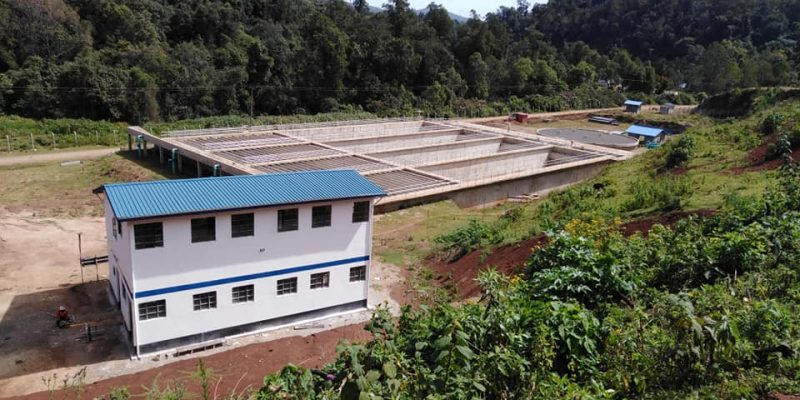 KENYA: Chemususu's drinking water system to be commissioned in June 2020©Chemususu Water Supply and Distribution Project