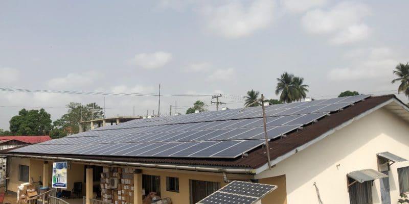 LIBERIA : Eco-Power connecte un mini-grid solaire au centre de santé de Sinje©Pnud