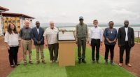 RWANDA: Howard Buffet launches solar-powered irrigation system in Nasho©/Rwandan Presidency