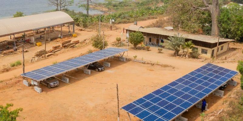 GHANA: Redavia connects small-scale solar power plant for KKTR sawmill©Redavia