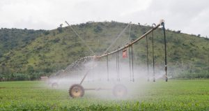 RWANDA : Howard Buffet lance un système d'irrigation à l'énergie solaire à Nasho©Présidence rwandaise