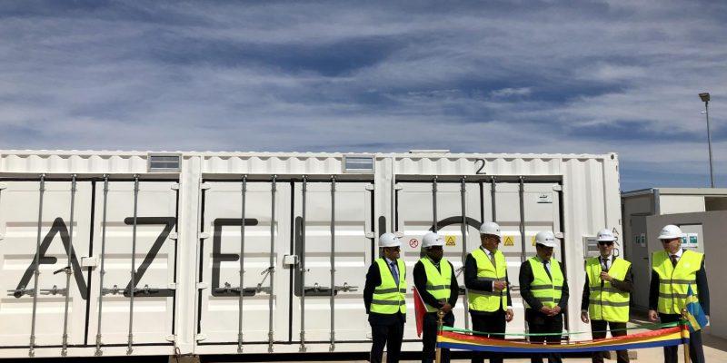 MAROC : Azelio installe un système de stockage au cœur du complexe solaire de Noor©Azelio