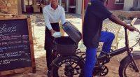 NAMIBIE : les vélos électriques «e-bikes» s'adapte à la livraison à domicile©E-bikes4africa